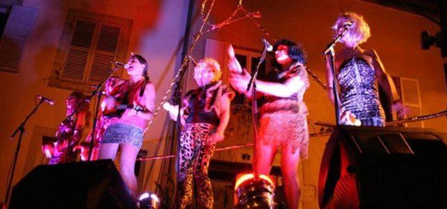 Lily Halliday et les Chattes sauvages à la Fête de la Musique, Doucier, 16 juin 2017